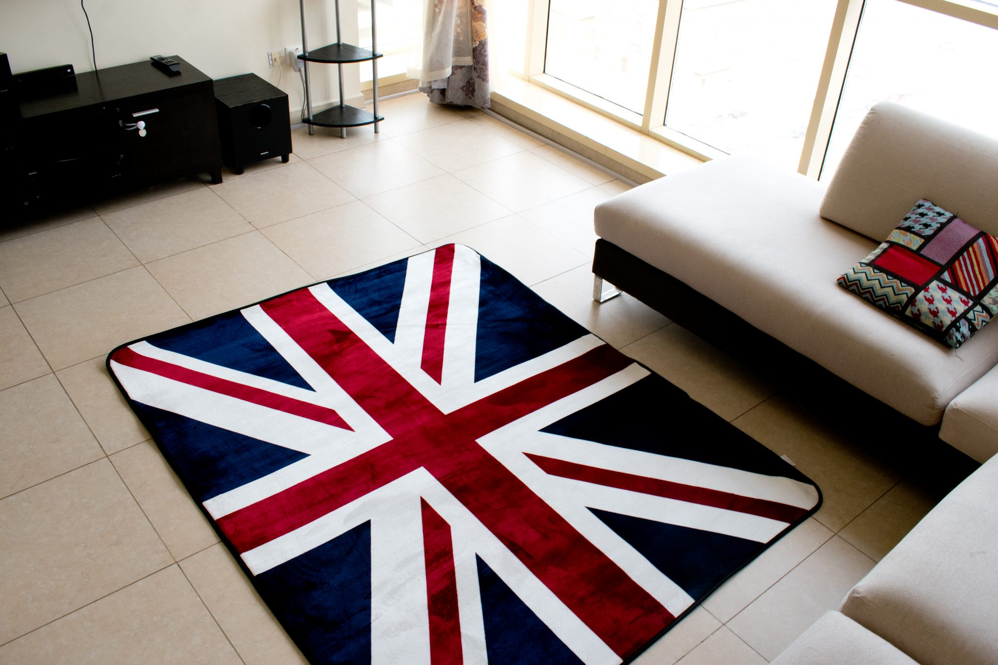 Vintage Union Jack British Flag Mat
