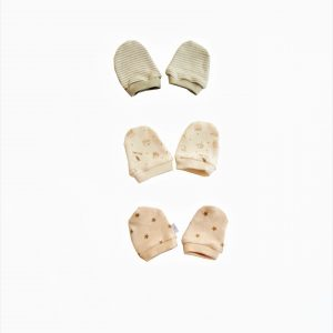 Little Tickles Value pack Organic Mittens