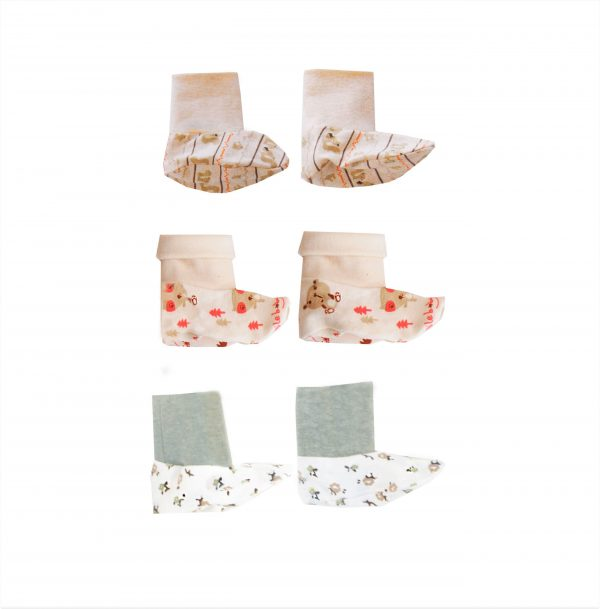 Lil' Tickle's 3 Pack Booties