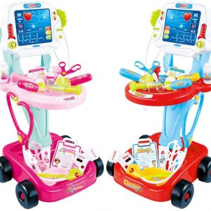 Pretend Play DoctorTrolley - Red