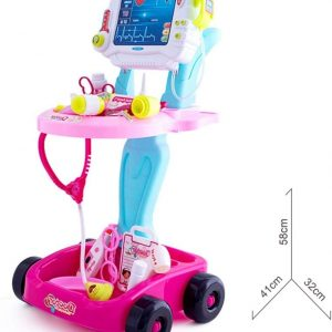Pretend Play DoctorTrolley - Pink
