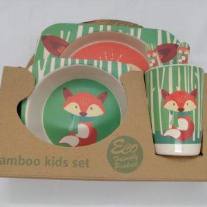 Bamboo tableware - Fox