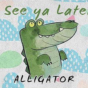 Cute Alligator Play Mat / Rug / Carpet For Kids Room