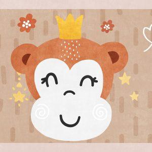 Monkey Play Mat/ Rug / Carpet for Kids Room