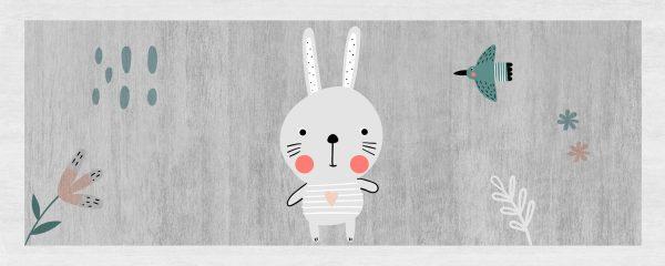 Little Bunny Play Mat/ Rug / Carpet for Kids Room