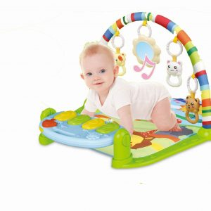 Andrea Baby Activity Play Mat with  Baby Fitness Pedal Piano