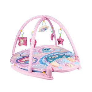 Angella Baby Activity Play Mat with Baby Fitness Pedal Piano